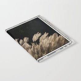 YAKU JIMA GRASS IN BACKLIT SUN Notebook