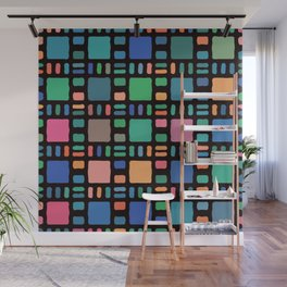 The Boundary of Arithmetic Wall Mural