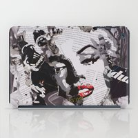 monroe iPad Cases featuring Monroe by Ross Collins Artist
