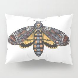 African Death's Head Hawkmoth (Acherontia atropos) Pillow Sham