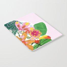 Abstract Flower Bouquet Notebook