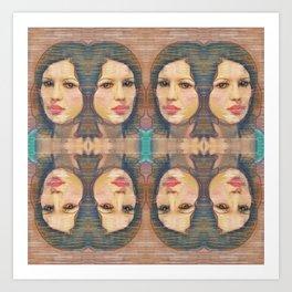 Face This Art Print