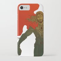 thor iPhone & iPod Cases featuring Thor by Pulvis