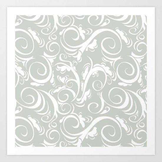 Floral Sea Salt Art Print