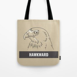 Hawkward Tote Bag