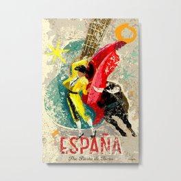 España Metal Print
