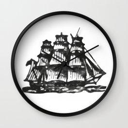 Merchant ship Wall Clock