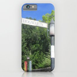 Take the road most traveled iPhone Case