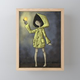 Little nightmares Framed Mini Art Print