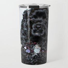 Valentine Puppy Photography Print Travel Mug