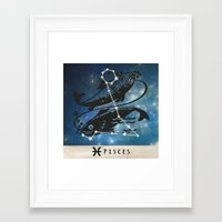 zodiac Framed Art Prints featuring Zodiac by Picture It On Canvas!