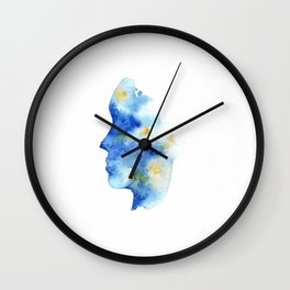 Ocean Mind Wall Clock