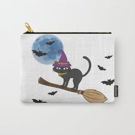 cat flying Carry-All Pouch