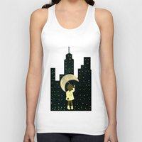 starry night Tank Tops featuring Starry Night by Bluepress