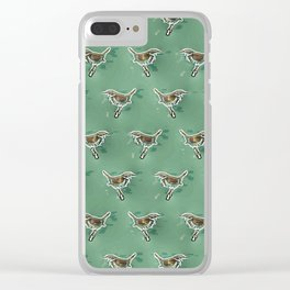 Wren. Clear iPhone Case