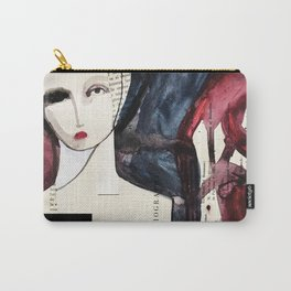 Fashion Sculpture Carry-All Pouch