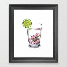 Gin tonic Framed Art Print