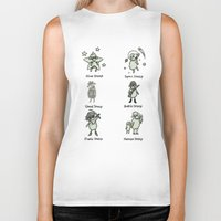 sheep Biker Tanks featuring Sheep by Lili Batista