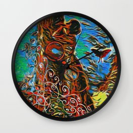 What Does The Tree Think Wall Clock