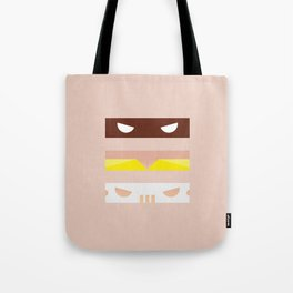 Teenage Minimal Ninja Good Guys Tote Bag