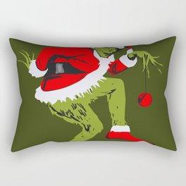 Grinch Rectangular Pillow