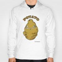 potato Hoodies featuring POTATO  by Michelena
