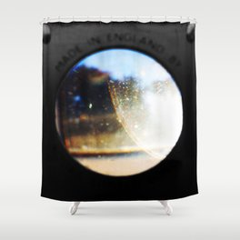 Through The Lens Shower Curtain