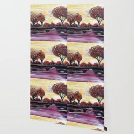 Autumn Sundown Wallpaper
