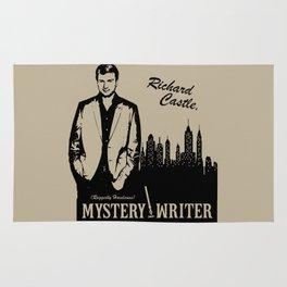 Richard Castle, Mystery Writer Rug