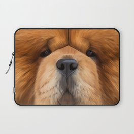Drawing dog chow chow Laptop Sleeve