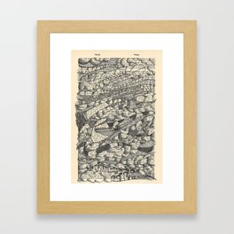 Rolling with the Wind Framed Art Print