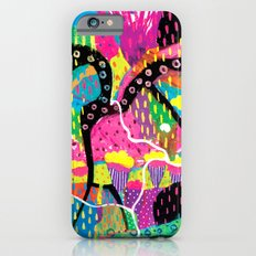My mind runs wild like your imagination iPhone 6s Slim Case