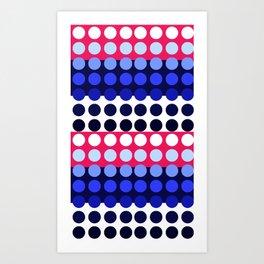 Dots! Art Print
