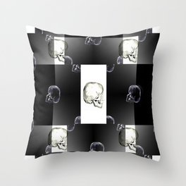 Skeleton Crew Throw Pillow