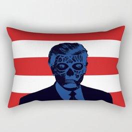 Trump Lives Rectangular Pillow
