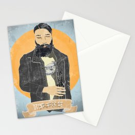 alcohol and engines Stationery Cards