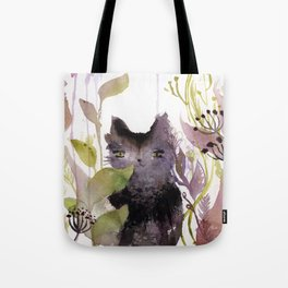 Adder in the Garden Tote Bag