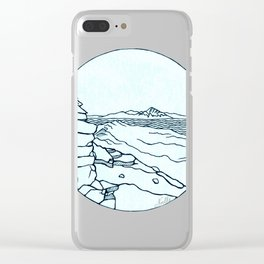 Frary Peak Clear iPhone Case
