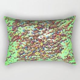 Candy Work - just for kids Rectangular Pillow