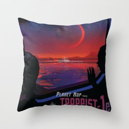 NASA / Visions of the Future / TRAPPIST-1e Throw Pillow