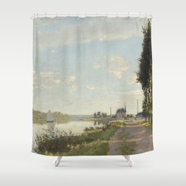 Argenteuil Shower Curtain