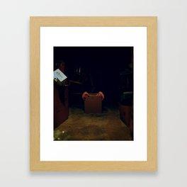 Monsters in the Basement Framed Art Print