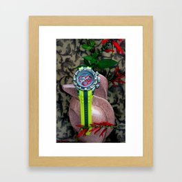 You Watch My Back And... Framed Art Print