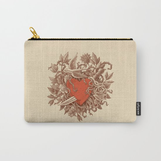 Heart of Thorns  Carry-All Pouch