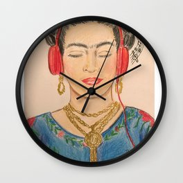 The Modernization of Frida Wall Clock