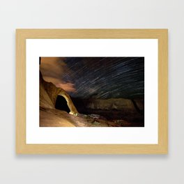 Waiting To Be Known Framed Art Print