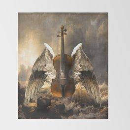 Celestial Music Throw Blanket