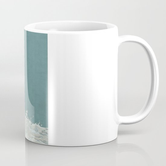 Three Ama Enveloped In A Crashing Wave Mug