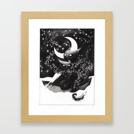 The Owl and the Pussy Cat Framed Art Print