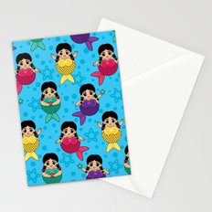 Chubby Mermaids Stationery Cards